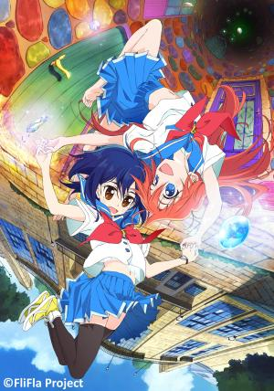 Flip Flappers anime