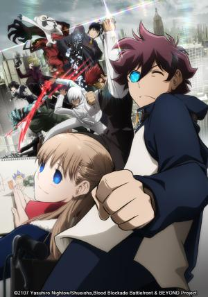 Blood Blockade Battlefront & Beyond anime