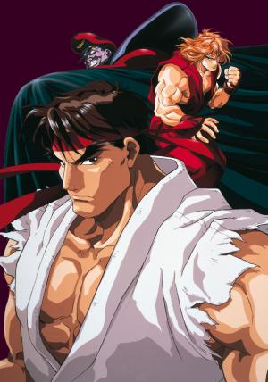 Street Fighter 2 anime